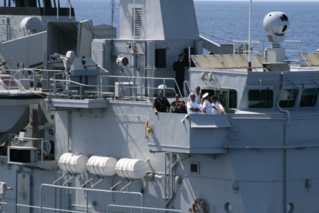 [Standing NATO Maritime Group 2 (SNMG2) visiting Morocco as part of NATO's Mediterranean Dialogue]. After Israel's war against Lebanon in the summer of 2006