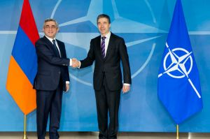Visit to NATO by President Serzh Sargsyan of Armenia