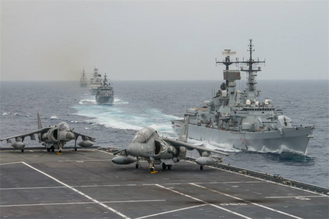 Mediterranean nato naval exercises in high gear - Momentum task force madrid ...