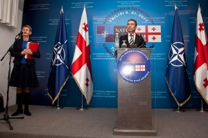 North Atlantic Council visit to Georgia -  Press conference by the NATO Secretary General