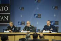 NATO Chiefs of Defence meetings - Joint Press Conference with the Chairman of the NATO Military Committee, the Supreme Allied Commander Europe and Supreme Allied Commander Transformation