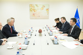 Secretary General of the Council of Europe visits NATO