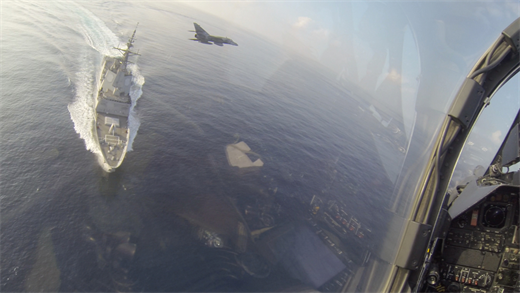 Gulf Of Aden: French Nuclear Aircraft Carrier Drills With