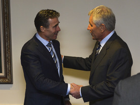 NATO Secretary General visits Washington D.C.