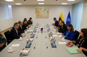 The Vice Defence Minister of Colombia visits NATO