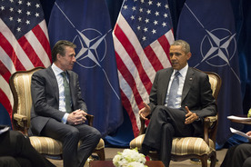 NATO Secretary General meets with US President Barack Obama