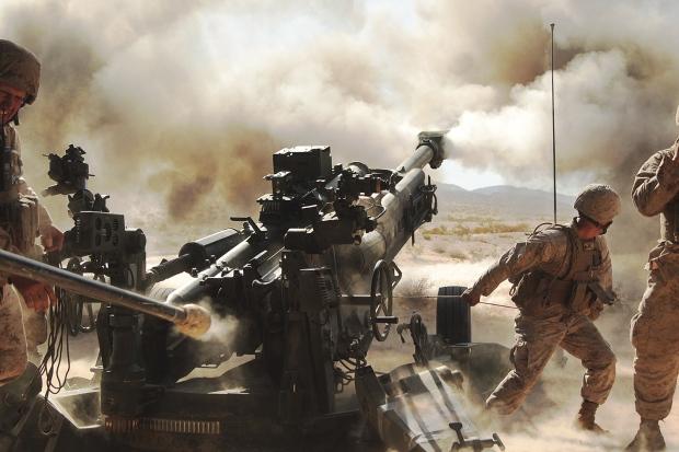 Biggest Killer On The Battlefield U S Prepares Artillery
