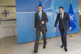The Prime Minister of Estonia visits NATO