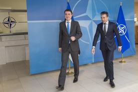 The Prime Minister of Estonia visits NATO