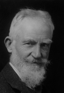 NPG x81840; George Bernard Shaw by Elliott & Fry