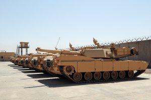 IA receives last shipment of GoI-purchased tanks