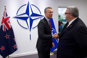 Minister of Defence of New Zealand visits NATO